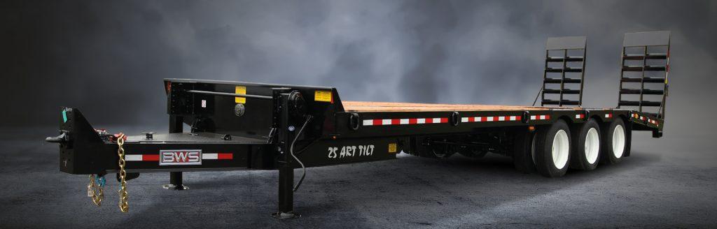 Air Tilt, No Ramp - BWS Tags Trailers
