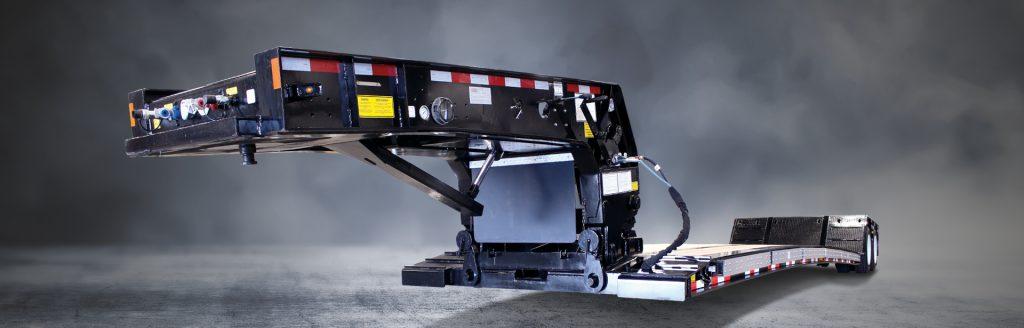 Hydraulic Detachable Gooseneck Ag ULP - BWS RGN Double Drops Trailers