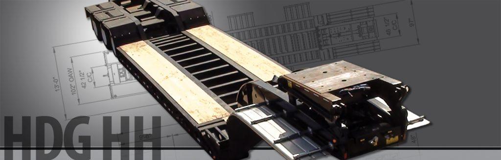 Hydraulic Detachable Gooseneck Heavy Haul - BWS Construction Trailers