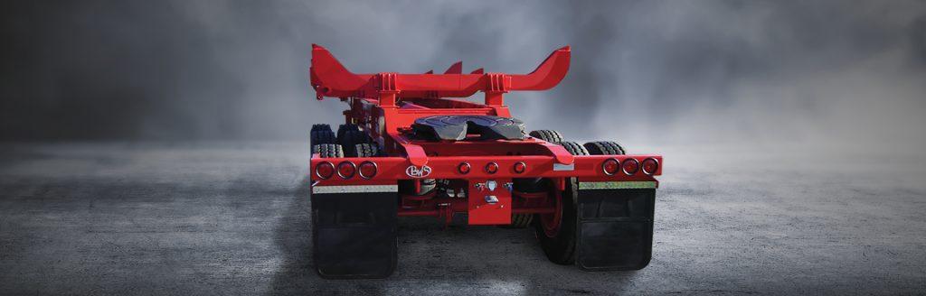 Western Logger B-Train - BWS Logging Trailers
