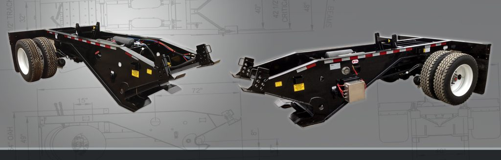 Single Axle Booster - BWS Oilfield Trailers
