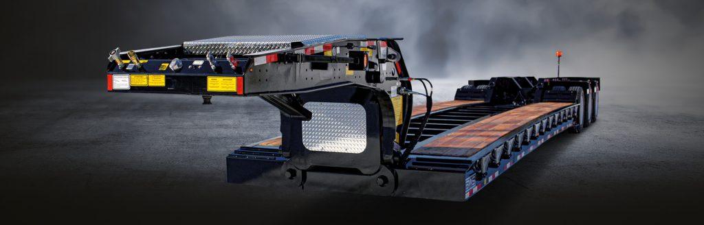 Hydraulic Detachable Gooseneck E - BWS HRGN Lowboys Trailers