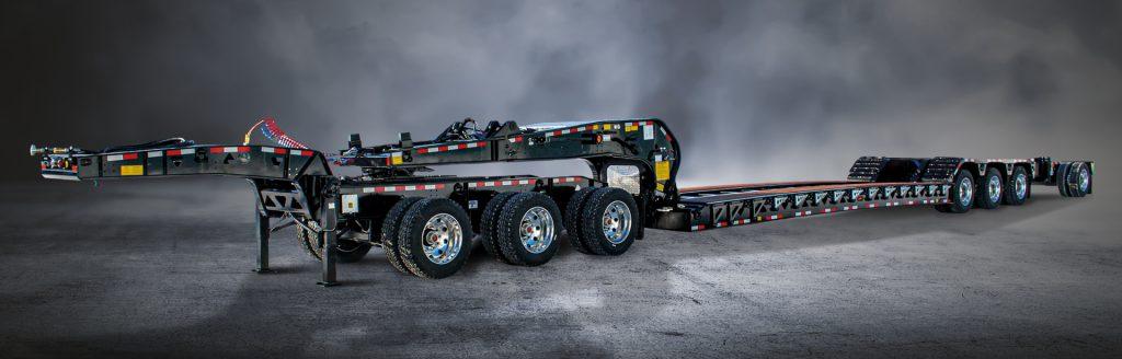 Hydraulic Detachable Gooseneck HS - BWS HRGN Lowboys Trailers